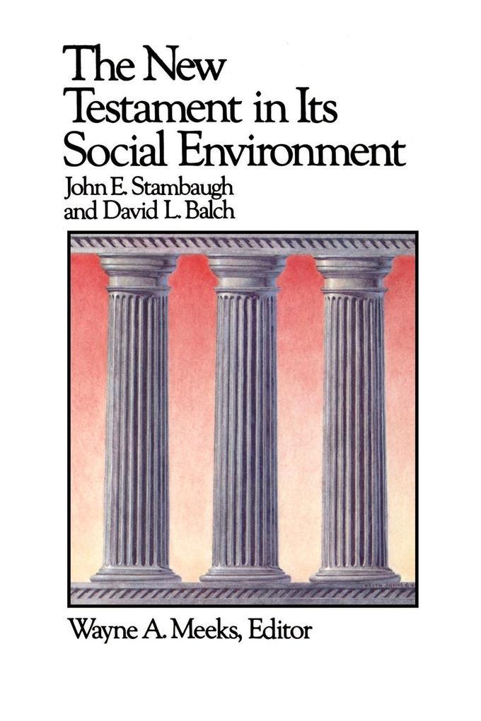 The New Testament in Its Social Environment als Taschenbuch
