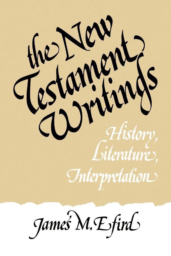 New Testament Writings als Taschenbuch