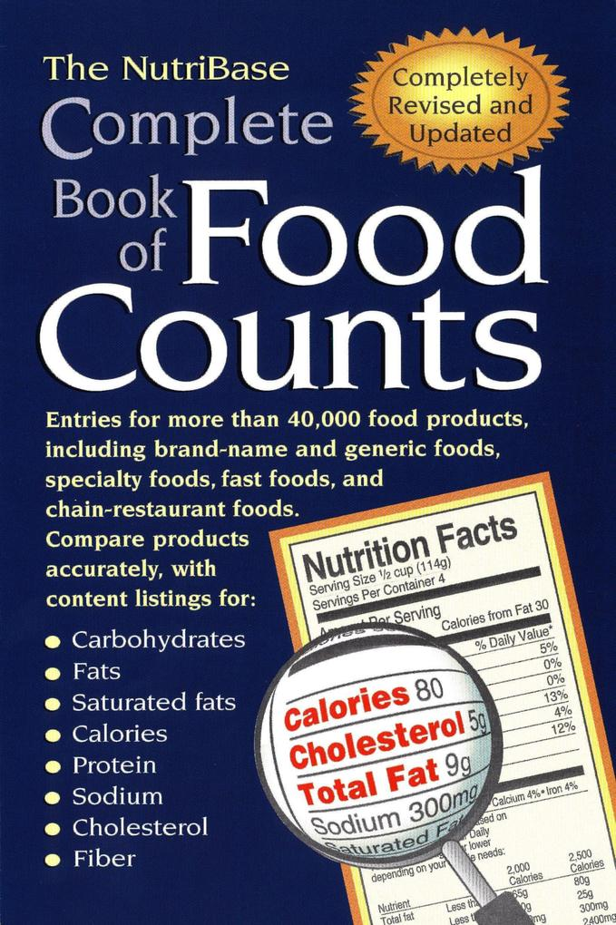 The Nutribase Complete Book of Food Counts 2nd Ed. als Taschenbuch