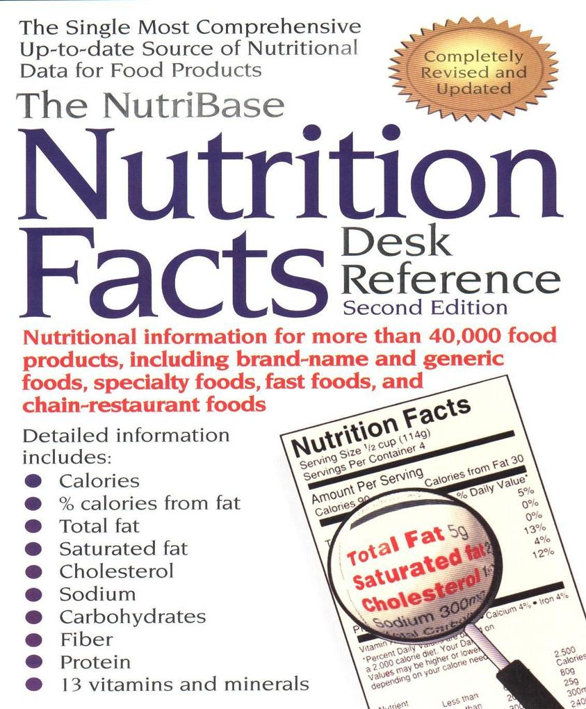 The Nutribase Nutrition Facts Desk Reference: Second Edition als Taschenbuch