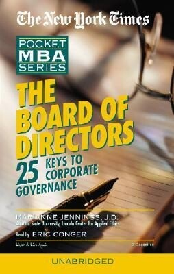 The Board of Directors: 25 Keys to Corporate Governance als Hörbuch