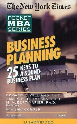 Business Planning: 25 Keys to a Sound Business Plan als Hörbuch
