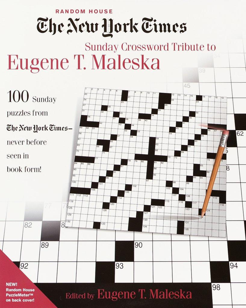 The New York Times Sunday Crossword Tribute to Eugene T. Maleska als Taschenbuch