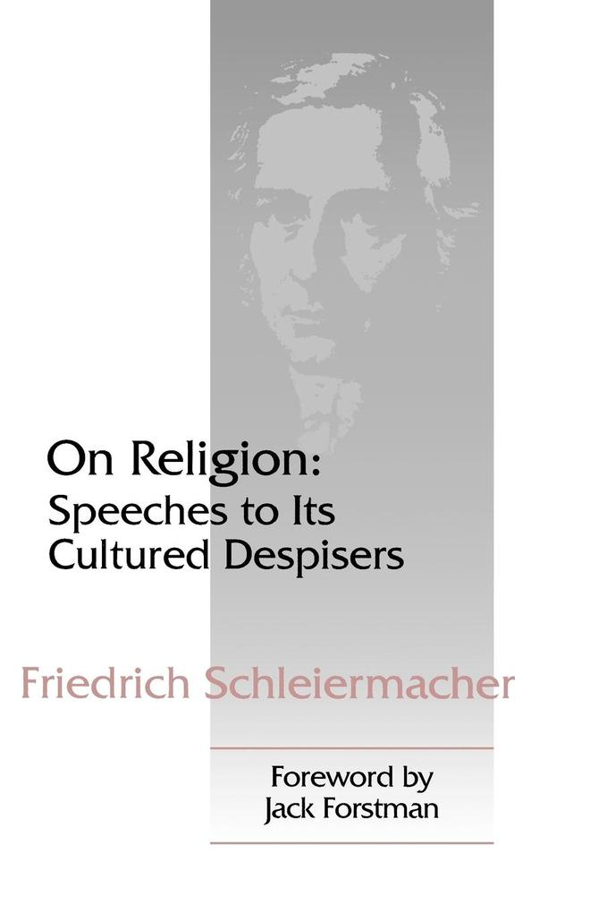 On Religion: Speeches to Its Cultured Despisers als Taschenbuch