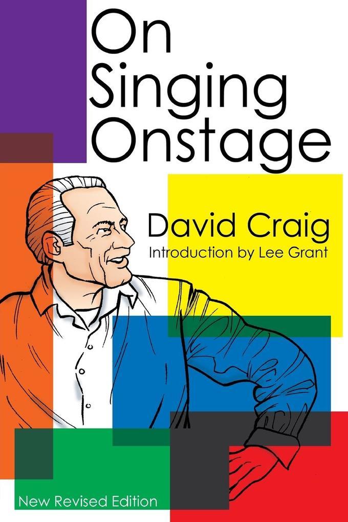 On Singing Onstage als Taschenbuch