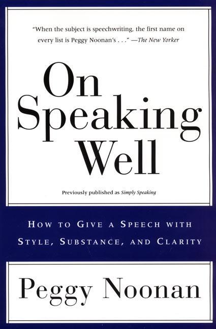 On Speaking Well als Taschenbuch