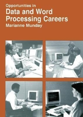Opportunities in Data and Word Processing Careers als Taschenbuch