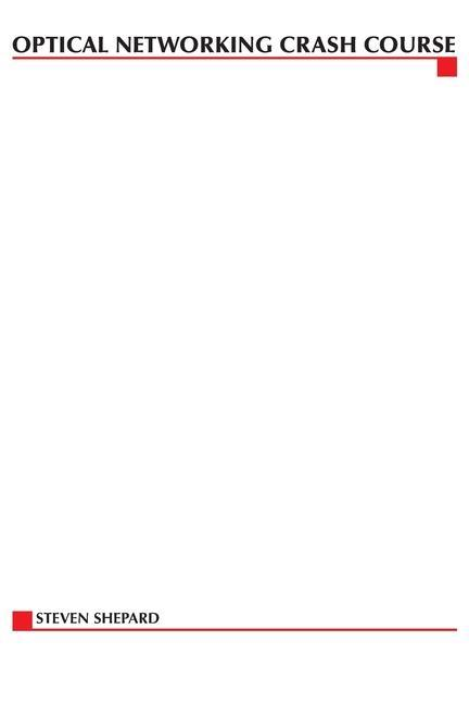 Optical Networking Crash Course als Taschenbuch
