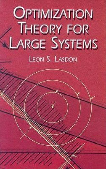 Optimization Theory for Large Systems als Taschenbuch