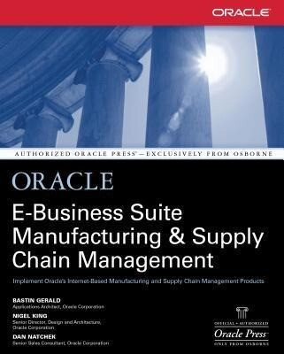 Oracle Manufacturing and Supply Chain Handbook als Taschenbuch