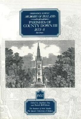 Ordnance Survey Memoirs Vol. 12: County Down III als Taschenbuch