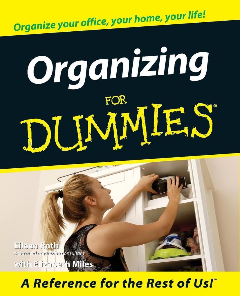 Organizing for Dummies als Taschenbuch