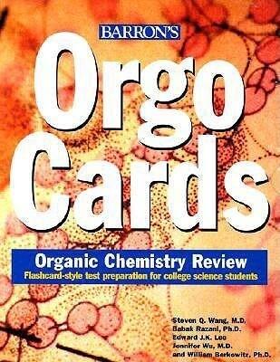Orgocards: Organic Chemistry Review als Spielwaren