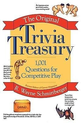 The Original Trivia Treasury: 1,001 Questions for Competitive Play als Taschenbuch