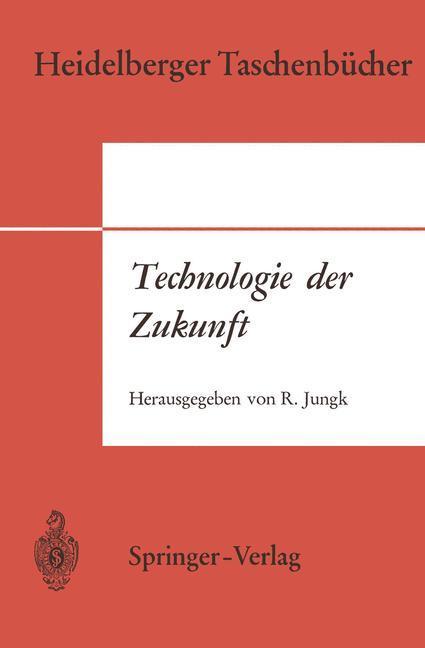 Technologie der Zukunft als Buch (kartoniert)