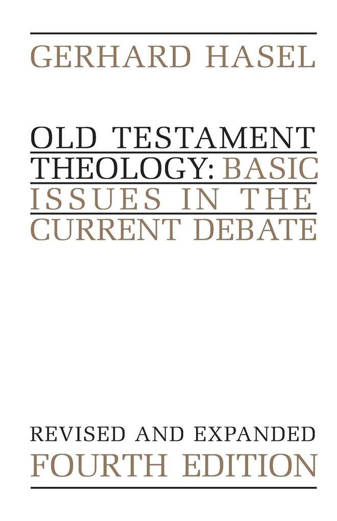 Old Testament Theology als Taschenbuch