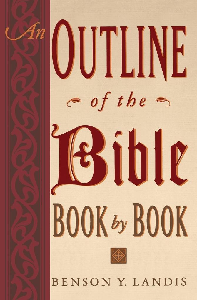 An Outline of the Bible als Taschenbuch