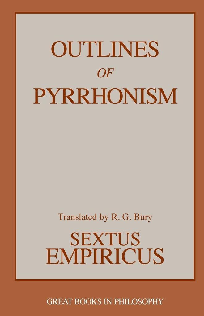 Outlines of Pyrrhonism als Taschenbuch