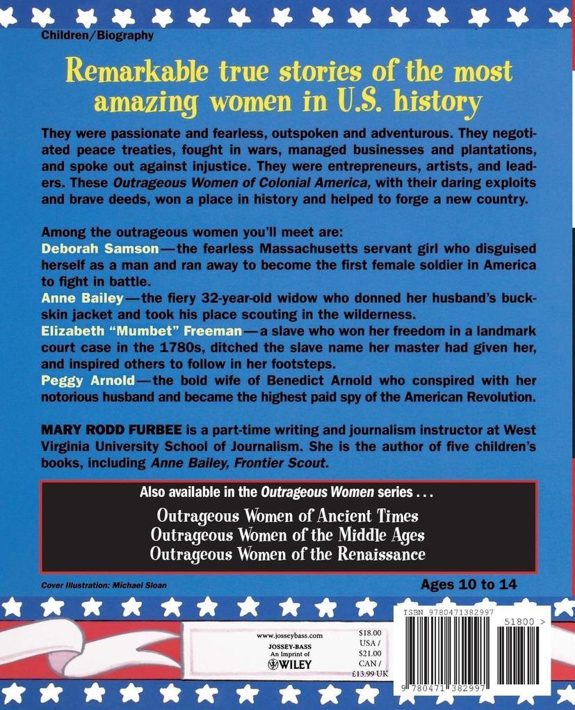 Outrageous Women of Colonial America als Taschenbuch