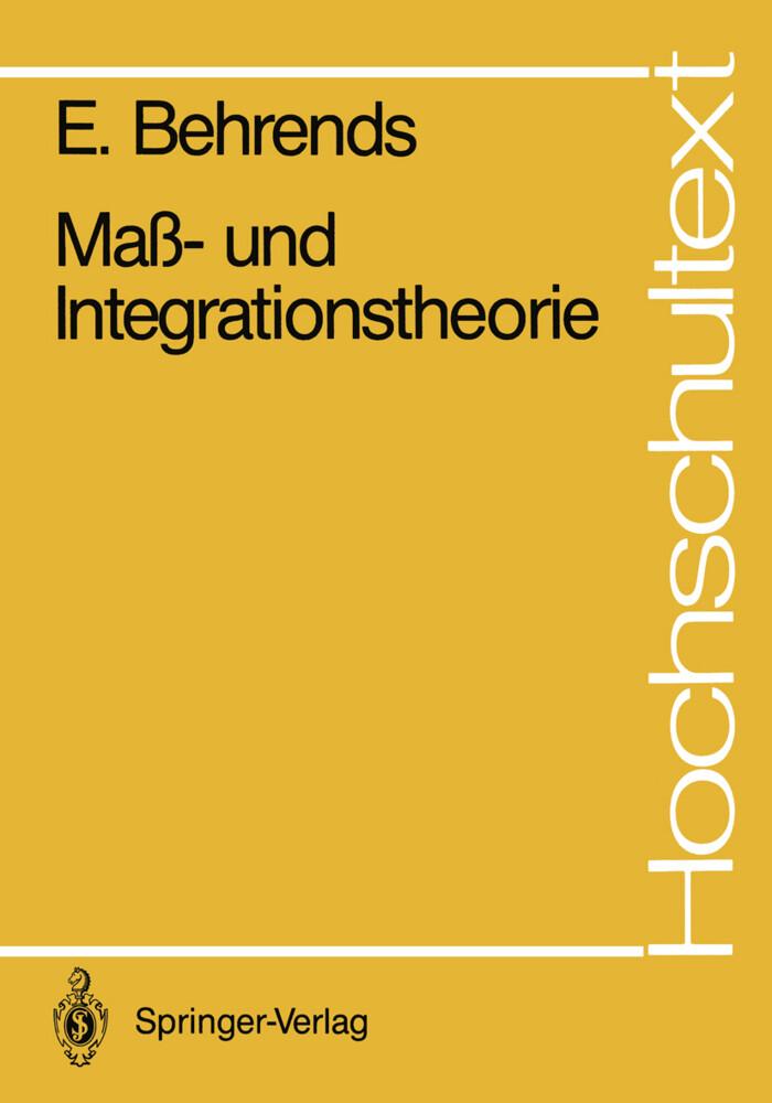 Maß- und Integrationstheorie als Buch