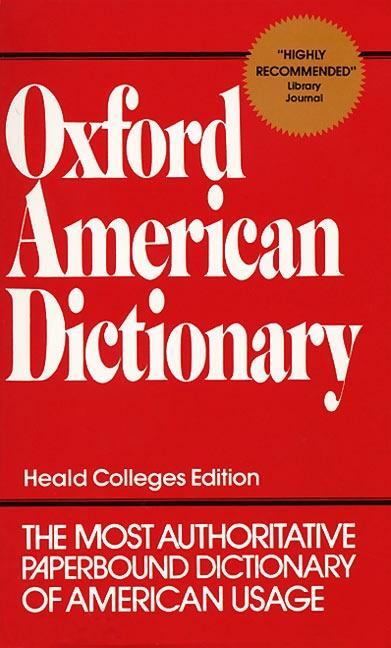 Oxford American Dictionary als Taschenbuch