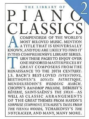 The Library Of Piano Classics Book 2 als Taschenbuch