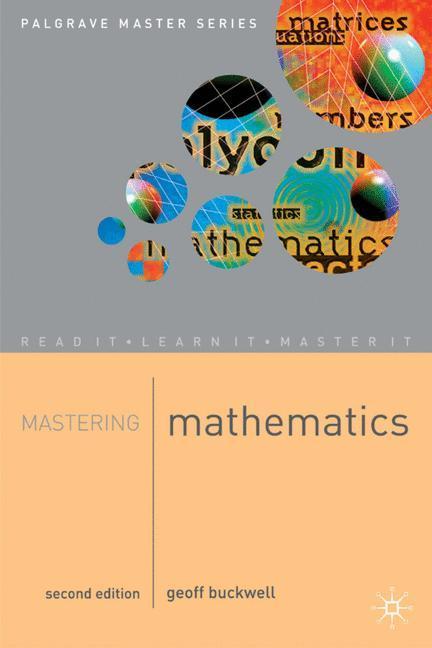 Mastering Mathematics als Buch