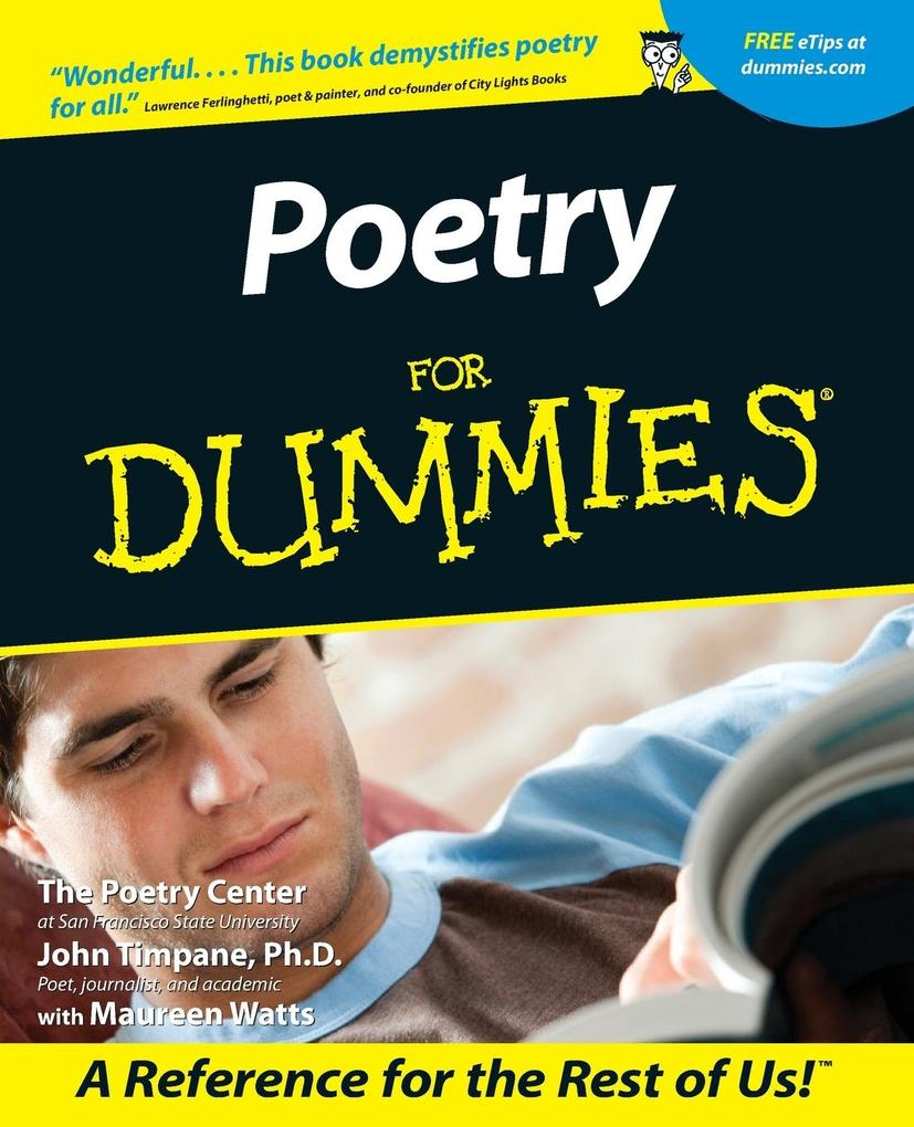 Poetry for Dummies als Buch