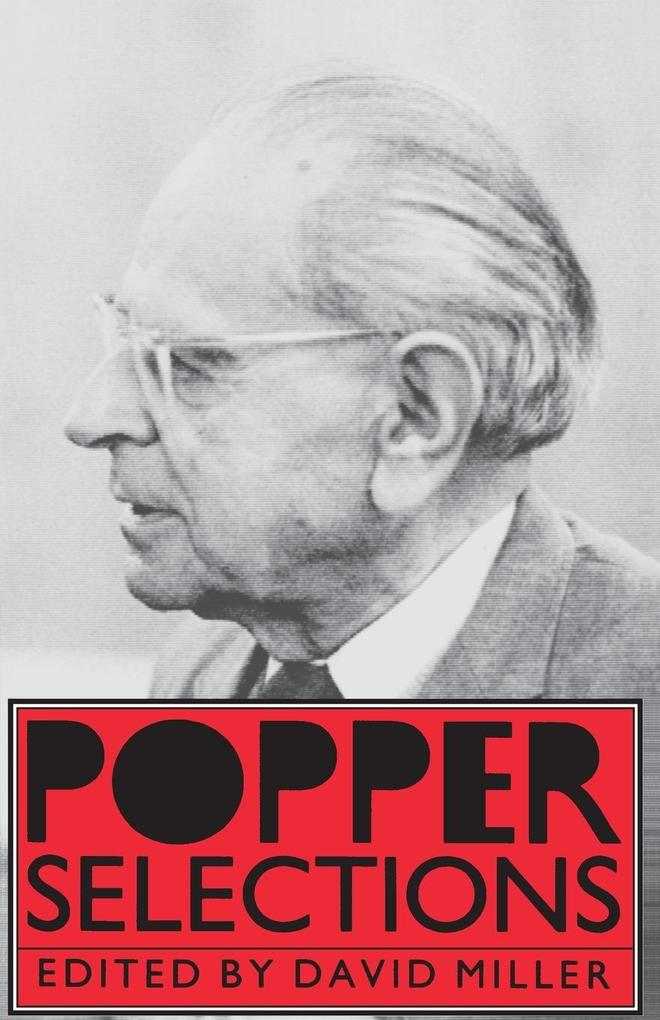 Popper Selections als Taschenbuch