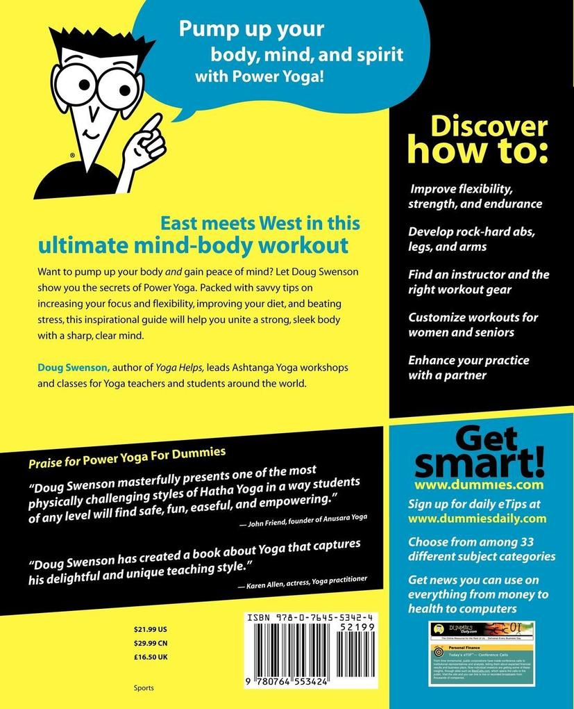 Power Yoga For Dummies als Buch