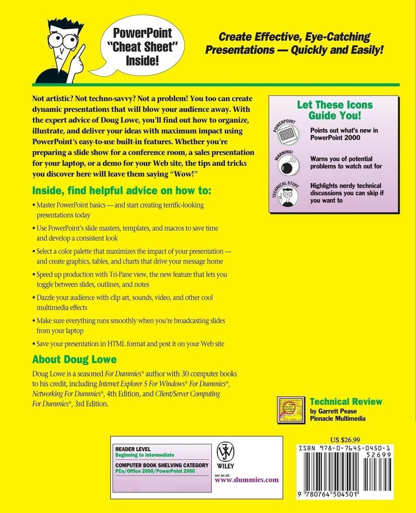 PowerPoint 2000 For Dummies als Buch
