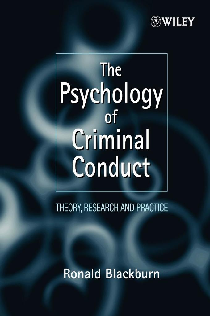 Psychology of Criminal Conduct als Buch