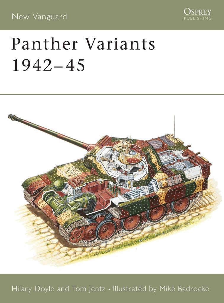 Panther Variants, 1943-45 als Taschenbuch