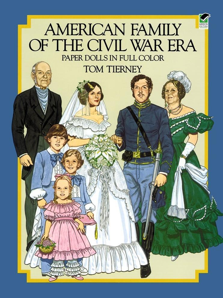 American Family of the Civil War Era Paper Dolls in Full Color als Taschenbuch
