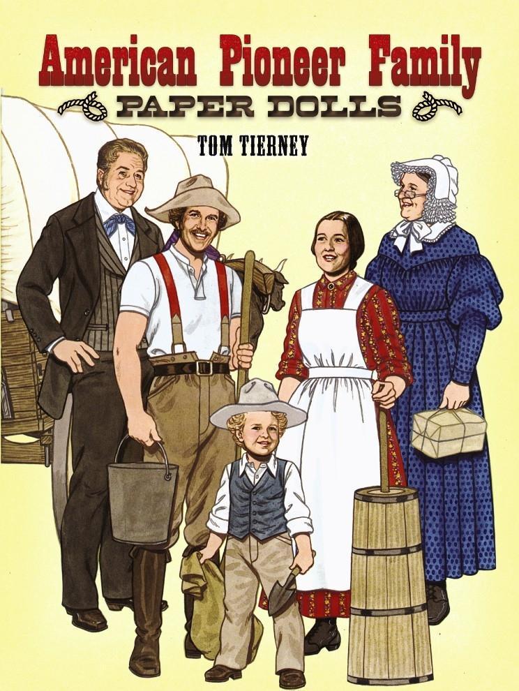 American Pioneer Family Paper Dolls als Taschenbuch