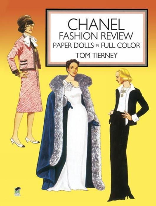 Chanel Fashion Review: Paper Dolls in Full Color als Taschenbuch