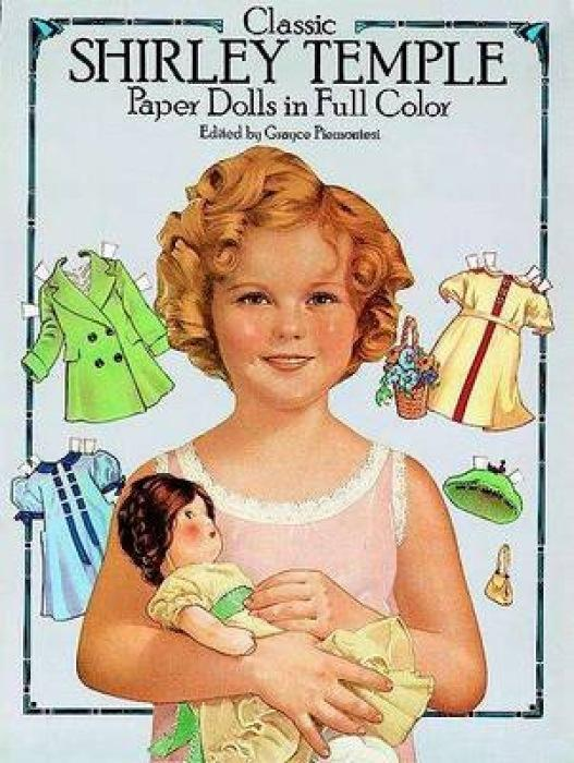 Classic Shirley Temple Paper Dolls in Full Colour als Taschenbuch