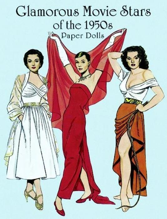 Glamorous Movie Stars of the Fifties Paper Dolls als Buch