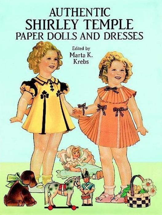 Authentic Shirley Temple Paper Dolls and Dresses als Taschenbuch