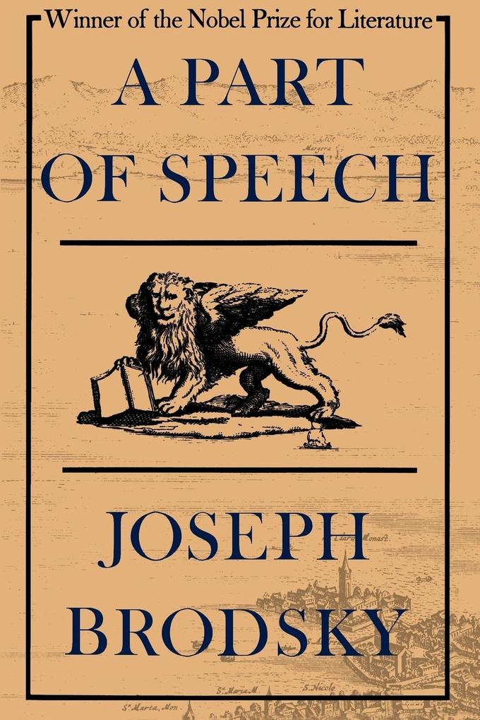 A Part of Speech als Taschenbuch
