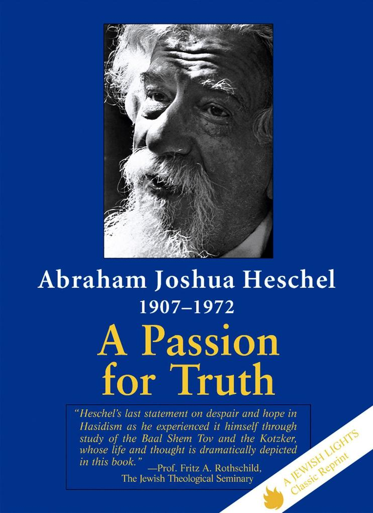 A Passion for Truth als Taschenbuch