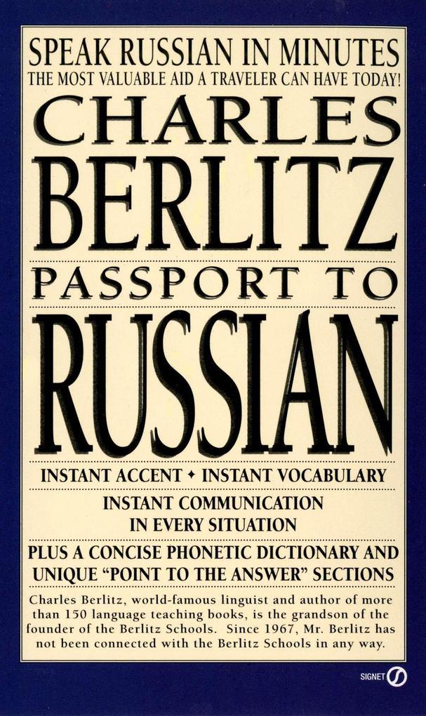 Passport to Russian: Speak Russian in Minutes als Taschenbuch