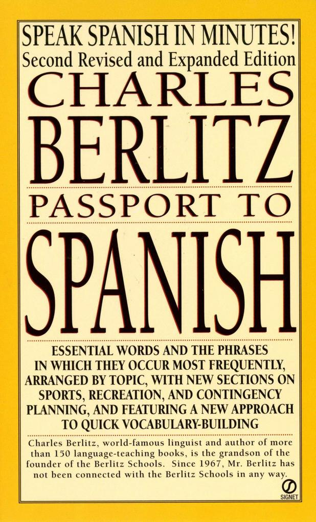 Passport to Spanish: Revised and Expanded Edition als Taschenbuch