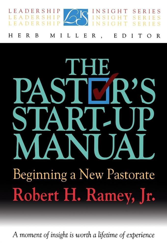 The Pastor's Start-Up Manual als Taschenbuch