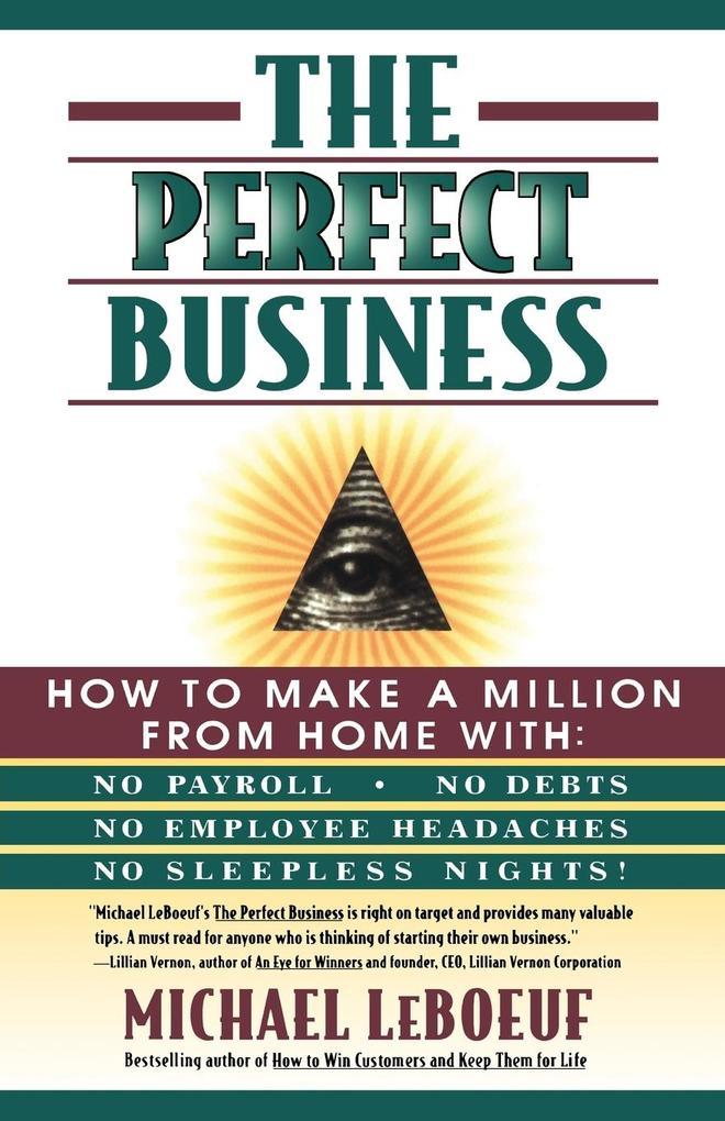 The Perfect Business als Taschenbuch