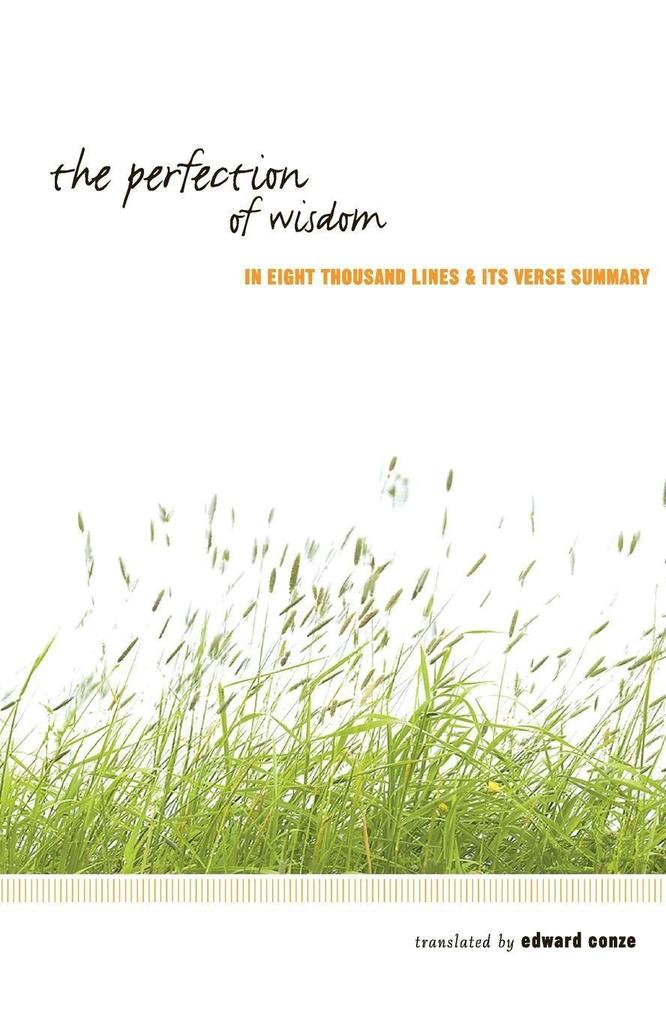 The Perfection of Wisdom als Taschenbuch