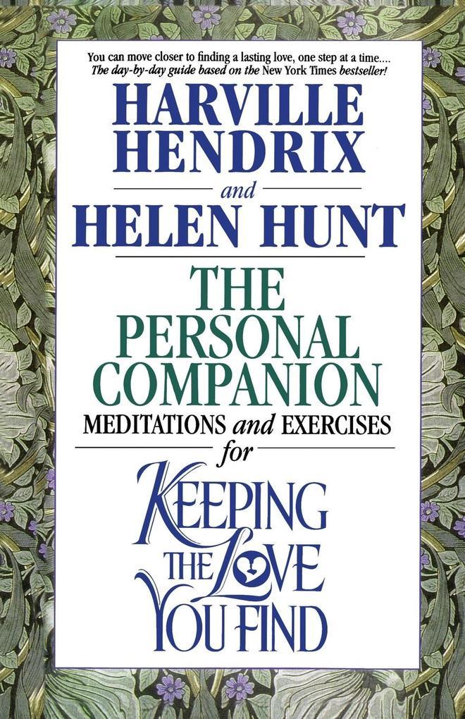 The Personal Companion als Taschenbuch