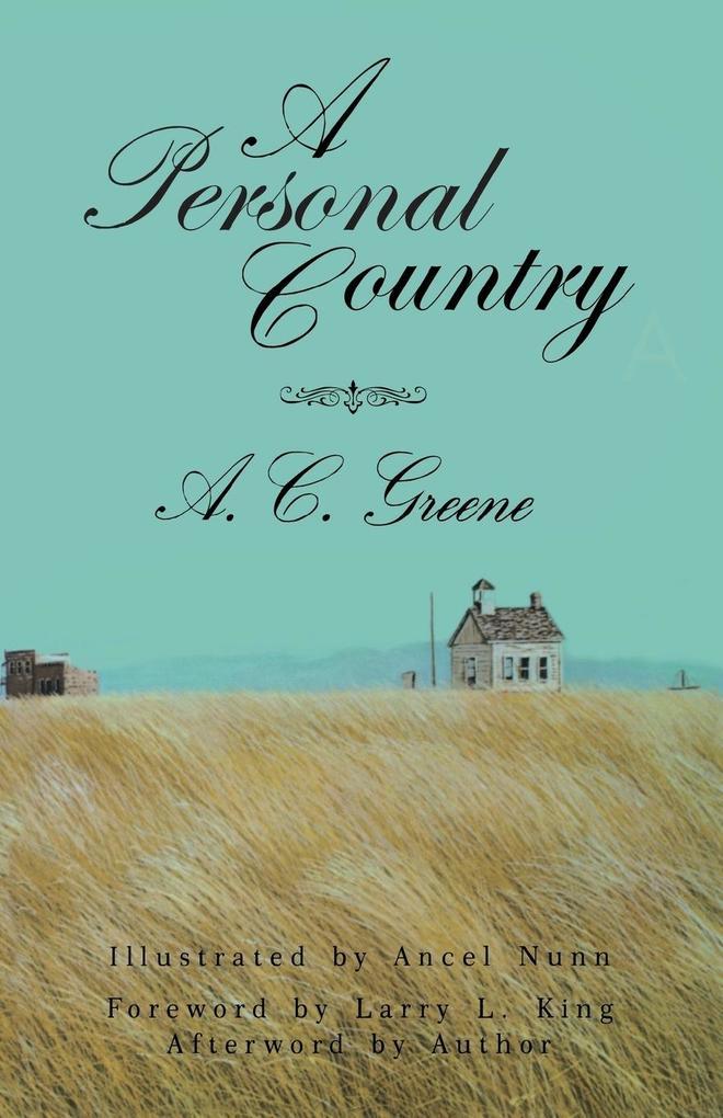 A Personal Country als Taschenbuch