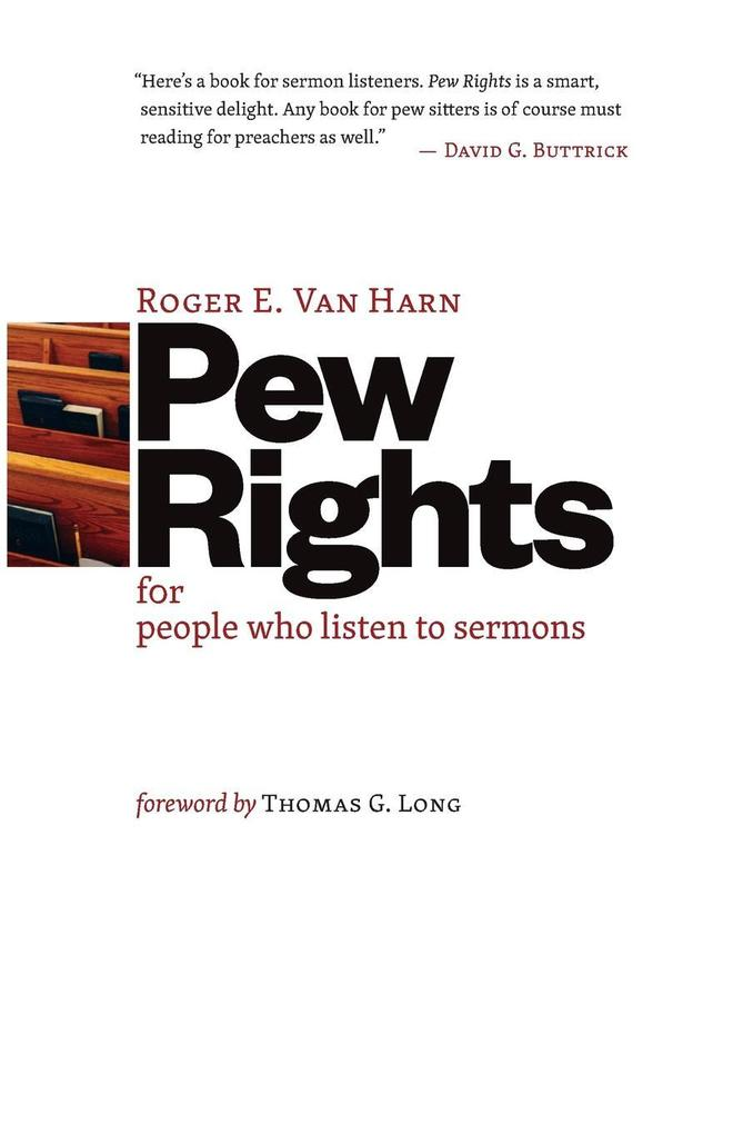 Pew Rights: For People Who Listen to Sermons als Taschenbuch