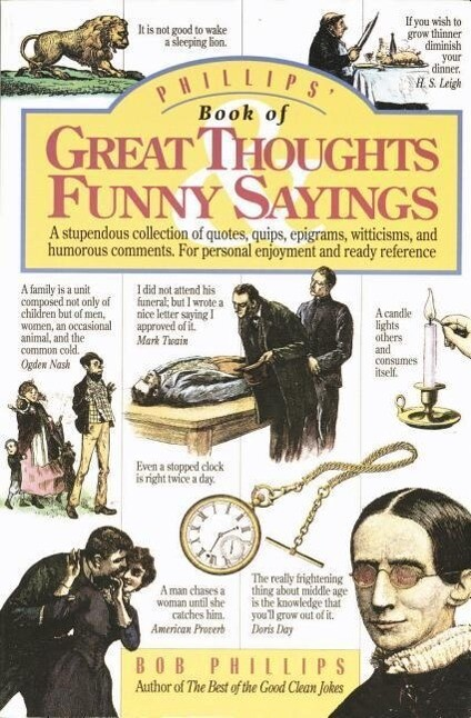 Phillips' Book of Great Thoughts and Funny Sayings als Taschenbuch